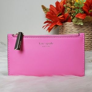 kate spade jacqueline small slim bifold wallet